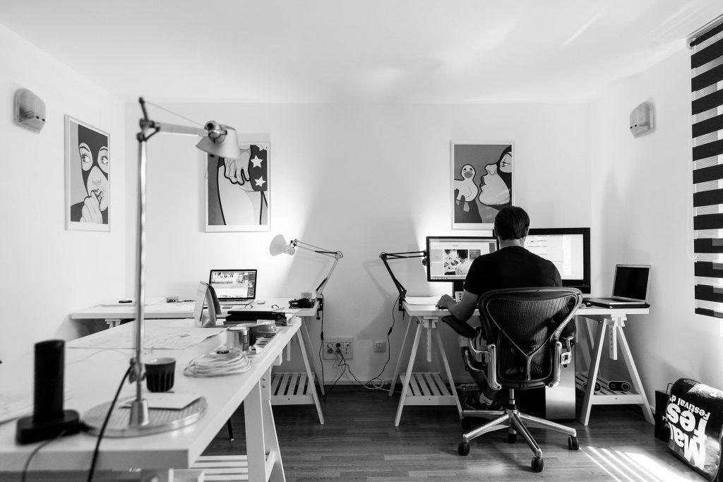 Home office durante la cuarentena
