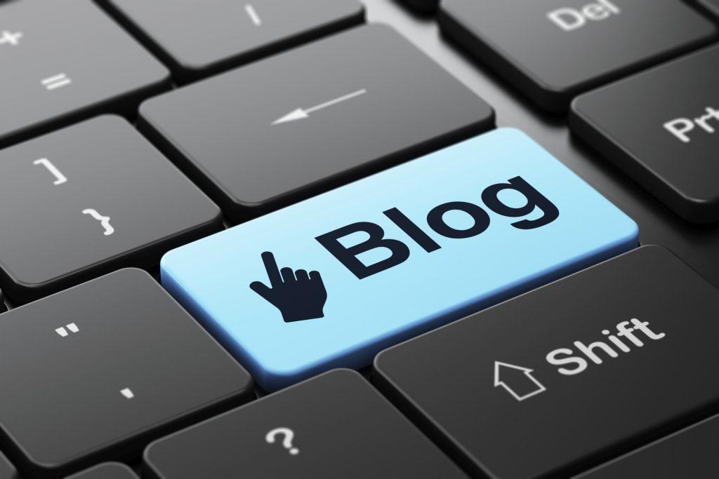 Botón de Blog