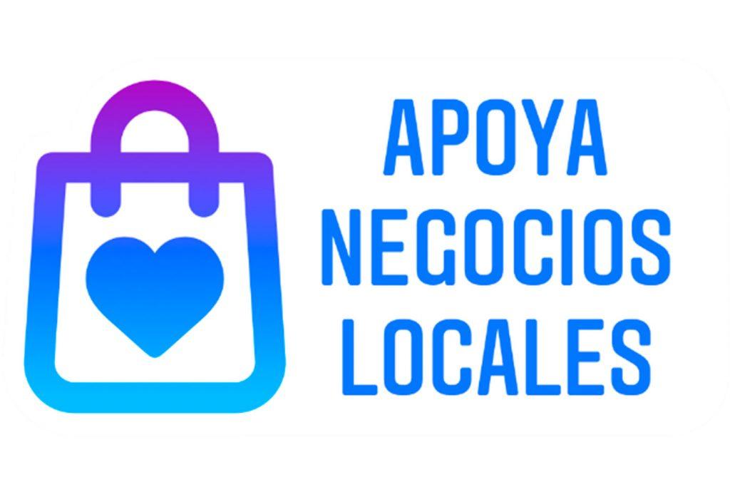 Sticker de instagram Apoya negocios locales