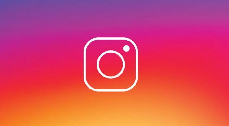 Letra de instagram
